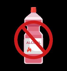 prodotti a base alcolica non sono ammessi per la rimozione delle barriere cutanee peristomali.