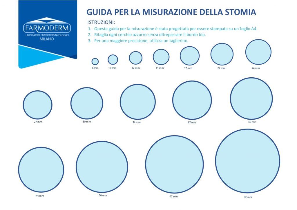 Guida per la misurazione della stomia circulare