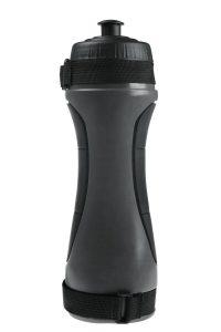 sport bottle in black with water