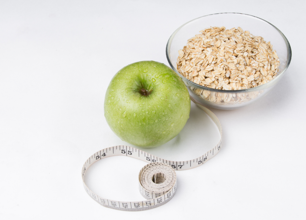 diet apple and oats