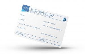 smartmockup ostomy travel card