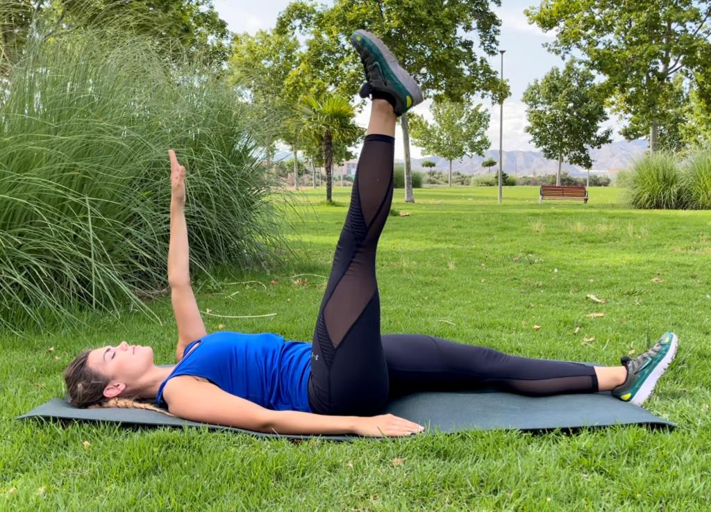 Alzate alternate di braccia e gambe